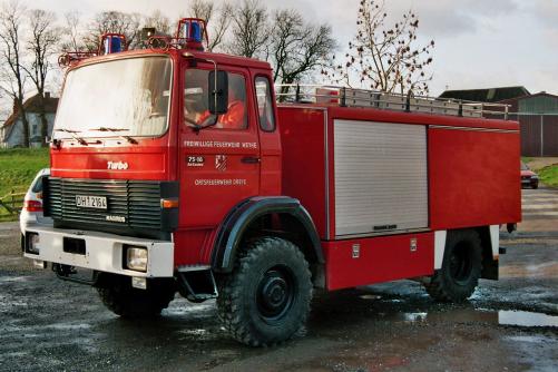 Tanklöschfahrzeug – TLF 8/18         (1985-2013)