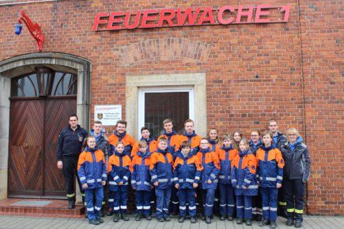 Berufsfeuerwehrtag der Jugendfeuerwehr Lahausen