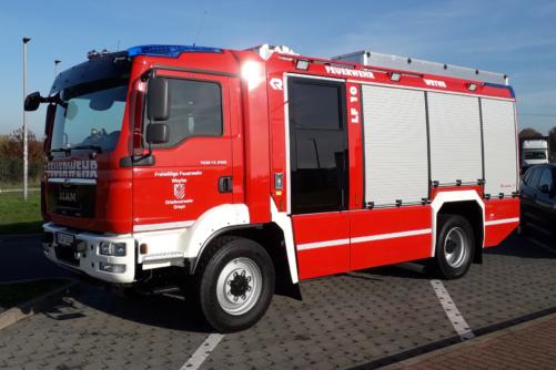 neues LF 10 in Dreye eingetroffen