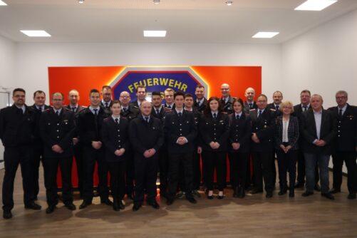 Jahreshauptversammlung Ortsfeuerwehr Leeste