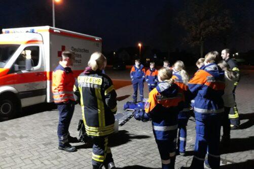 Rettungsdienst zu Besuch bei JF