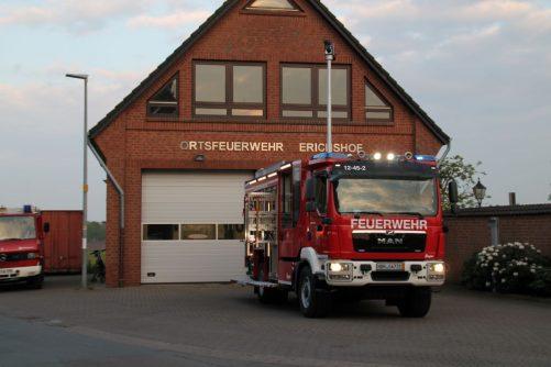 Neues Fahrzeug für die OF Erichshof
