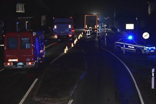 Ölschaden nach Verkehrsunfall