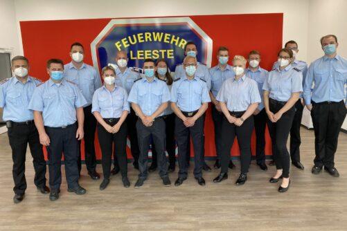 Read more about the article 20 Weyher Feuerwehrfrauen- und Männer beenden erfolgreich ihre Truppmannausbildung