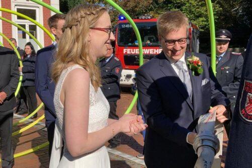 Read more about the article Die Hochzeitsglocken läuten!